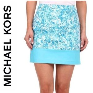 Michael Kors A-Line Mini Skirt.